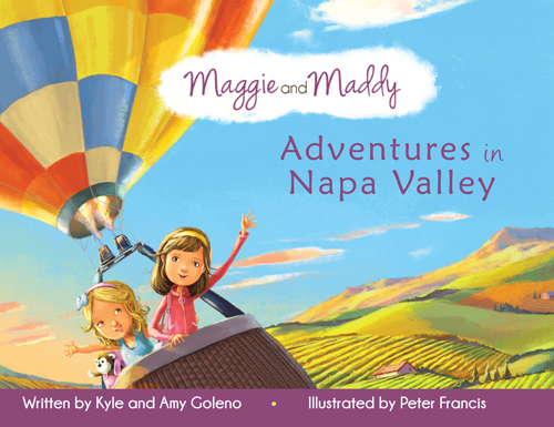 Maggie and Maddy Adventures in Napa Valley Book Cover